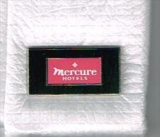 Pin's Mercure Hôtels - Marques