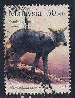Malaysia ~ Southern Serow ~ Cattle ~ SG 1115 ~ 2003 ~ Used - Malaysia (1964-...)