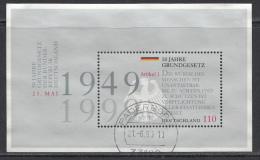 ALLEMAGNE Mi.nr. Bloc 48   1999 USED-GEBRUIKT-OBLITÉRÉ - Blocs