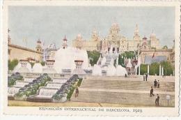 Barcelona Exposicion Internacional De 1929 -unused TTB - Madrid