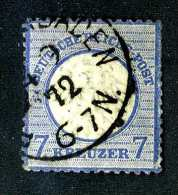 2116e  Reich 1872  Michel #10 Used ~  ( Cat.€120.00 )  Offers Welcome! - Deutschland