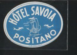 Hotel SAVONA Positano Italia - Hotelaufkleber