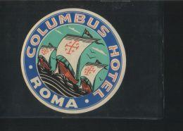 Hotel COLUMBUS Roma Italia - Hotel Labels