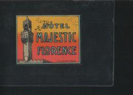 Hotel MAJESTIC Florence Italia - Hotel Labels