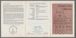 Argentina Volante N. 593 ARCHITECTURE AND HISTORY 1986 ARQUITECTURA E HISTORIA JOSE MARIA PENA - NO Stamps - Markenheftchen