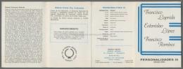 Argentina Volante N. 597 PERSONALIDADES III LAPRIDA LOPEZ RAMIREZ 1986 - NO Stamps - Markenheftchen