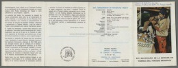 Argentina Volante N. 606 ANIVERSARIO DE LA ENTRADA EN VIGENCIA DEL TRATADO ANTARTICO 1987 - NO Stamps - Markenheftchen