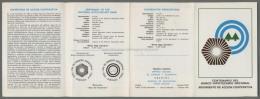 Argentina Volante N. 606 CENTENARIO DEL BANCO HIPOTECARIO NACIONAL COOPERATIVE ASSOCIATIONS 1987 - NO Stamps - Markenheftchen