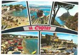 CPM FRANCE 13 BOUCHES DU RHONE LA CIOTAT Multivues - 1970 - La Ciotat