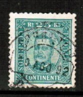 PORTUGAL    Scott  # 71a  VF USED - 1892-1898 : D.Carlos I