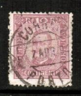 PORTUGAL    Scott  # 68 F-VF USED - 1892-1898 : D.Carlos I