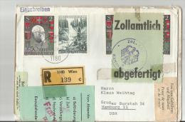 =AUSTRIA R- Brief  ZOLL 1970 - 1945-.... 2. Republik
