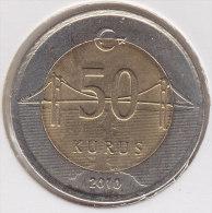 @Y@    Turkije   50  Kurus  2010      (2545) - Turkije