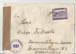 =AUSTRIA R- Brief  1945 CENZUR - 1945-60 Briefe U. Dokumente