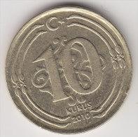 @Y@    Turkije   10 Kurus  2010      (2547) - Turkije