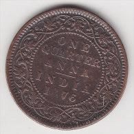 @Y@    India  Britisch   1/4  Anna  1876      (2549) - India