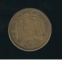 ESPAÑA - 2 1/2  Pesetas 1953*56 - 1 Peseta