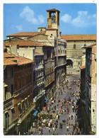 """55/500A - PERUGIA , Cartolina Nuova """" Corso Vannucci """" . - Perugia"""