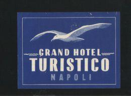 Grand Hotel TURISTICO Napoli Italia - Hotelaufkleber