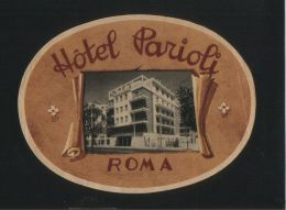 Hotel PARIOLI Romai Italia - Hotelaufkleber