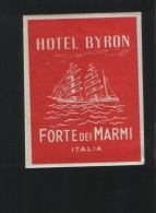 Hotel BYRON Forte Dei Marmi Itali - Hotel Labels