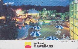 Télécarte Japon - HAWAII / SPA Resort - Piscine / Spring Town - Japan Phonecard USA Rel. Telefonkarte - 102 - Publicidad