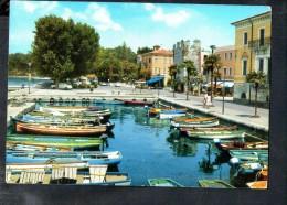 L837 Bardolino ( Verona ) Lago Di Garda - Porto, Port Con Barche Boats Barques - Used 1970 - Ed. Franceschini - Italia