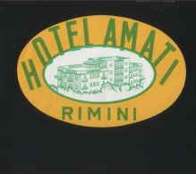 Hotel AMATI Rimini Italia - Hotelaufkleber