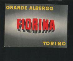 Grande Albergo FIORINA Torino Italia - Hotelaufkleber