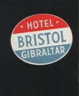 Hotel BRISTOL Gibraltar - Hotelaufkleber