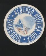 Albergo RIVIERA GOLF Viareggio Italia - Hotelaufkleber