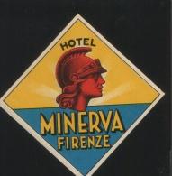 Hotel MINERVA Firenze Italia - Hotelaufkleber