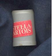 """Mini Chope Publicitaire En Platique - Bières  """"Stella Artois"""" Bière (gr) - Alcools"""