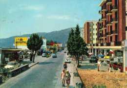 SAVONA-ANDORA-VIA AURELIA-PUBBLICITA' PERMAFLEX-AUTO D'EPOCA - Savona