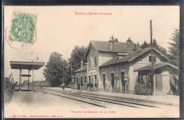 RAON - L'ETAPE . Intérieur De La Gare . - Raon L'Etape