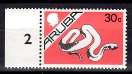 Aruba 1986 30c Snake Issue #5 - West Indies