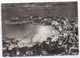 CPSM Vue Aérienne Dinard 35 Ille Et Vilaine Plage Pointe Du Moulinet Vers St Servan édit GREFF N°599 écrite 1950 - Dinard
