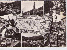 Plombières-les-Bains..belle Multi-vues..le Casino..Bains Romains..l'Eglise..Vallée D'Augronne - Plombieres Les Bains