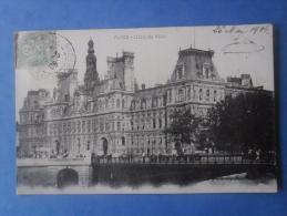 75-PARIS L'hotel De Ville - Monuments