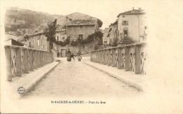 Cpa St Nazaire Le Desert Pont Du Roi - France