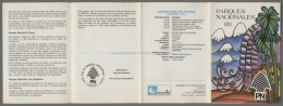 Argentina Volante N. 644 PARQUES NACIONALES II PARKS 1989 - No Stamps - Markenheftchen