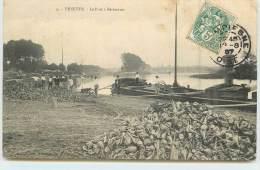 VENETTE  - Le Port à Bettraves ,péniche. - Hausboote