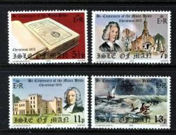 GB ISLE OF MAN IOM - 1975 MANX BIBLE SET (4V) FINE MNH ** SG 71-74 - Isle Of Man