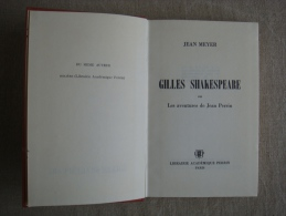 Jean Meyer Gilles Shakespeare Ou Les Aventures De Jean Perrin 1964 . Voir Photos - Autres