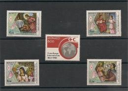 MONACO Croix Rouge   N°Y/T :1637-1649/50-1691/92 ** - Collections, Lots & Series