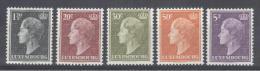 LUXEMBOURG - Mi Nr 511 + 586/589 - MNH** - Cote 14,20 € - Nuovi