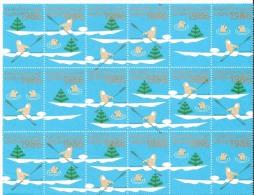 GREENLAND  # SHEETLETS CHRISTMAS 1986 (1/2 SHEETLETS) - Sin Clasificación