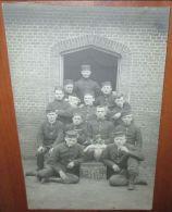 Carte Photo Originale Soldats Belge - 1914-18