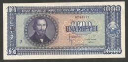 [NC] ROMANIA - REPUBLICA POPULARA ROMANA - 1000 LEI (1950) - Romania