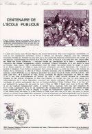 """Document Officiel De 1981 36-81 """" 100 ANS DE L´ECOLE PUBLIQUE """" N° YT 2131 + Parfait état + Prix Dégr ! DPO - Postdokumente"""